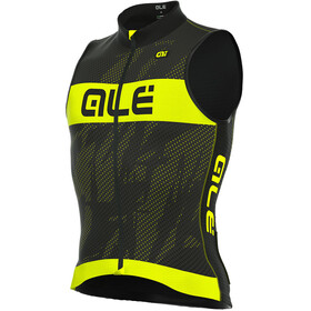 Alé Cycling Triathlon Record Sleeveless Tri Top Men black-fluo yellow
